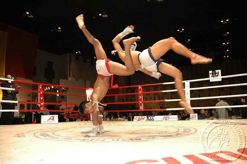 In Grozny took place the holiday of Thai boxing.