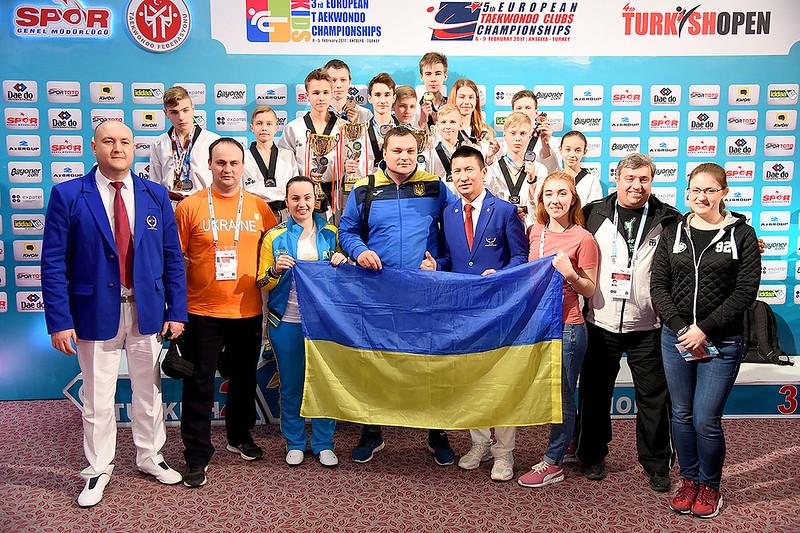 Турнир по тхэквондо «Turkish Open 2017»: 51 медаль у украинцев – 16 золотых, 14 серебряных и 21 бронзовая