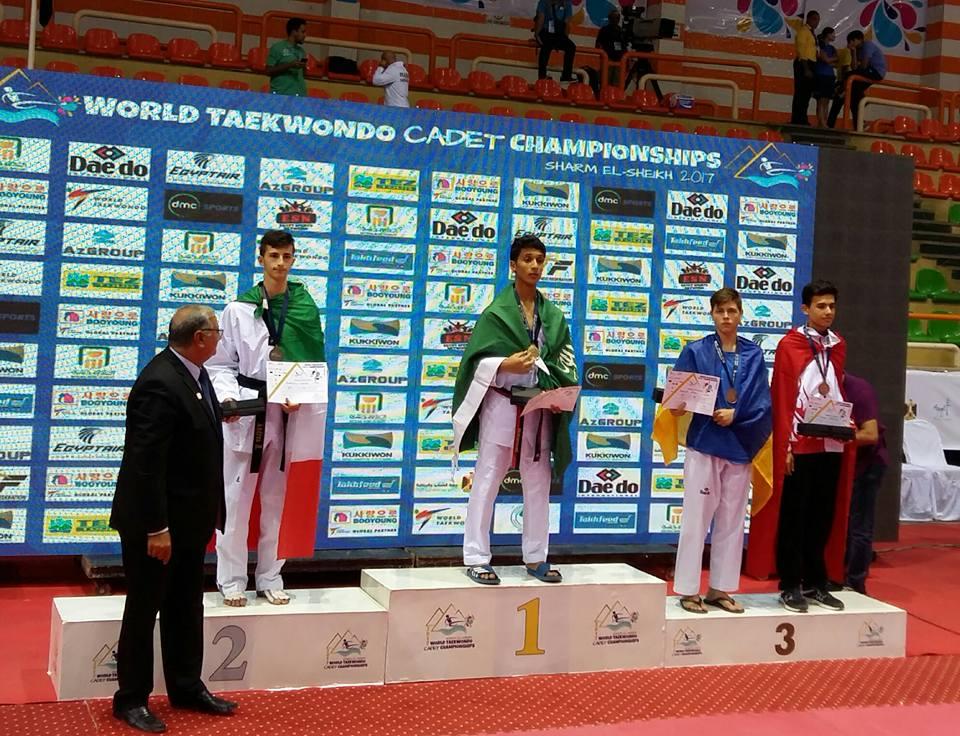 Чемпионат мира по тхэквондо среди кадетов: одессит Валерий Танасюк стал бронзовым призером