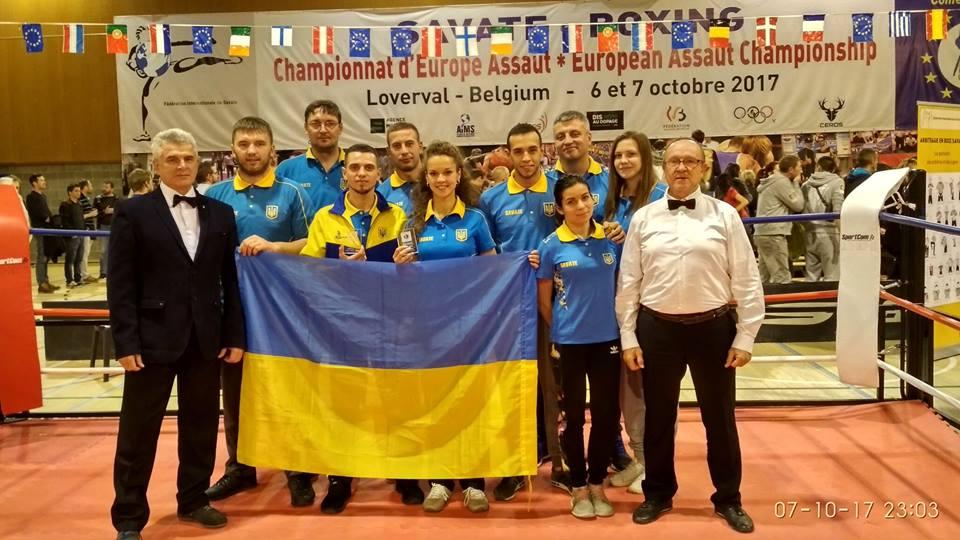 Чемпионат Европы по Савату: 2 медали привезла украинская сборная