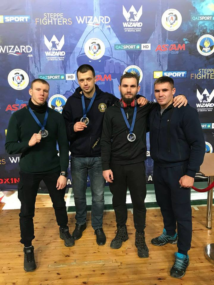 Одесситы стали победителями и призерами турнира по кикбоксингу Wizard Open 2017