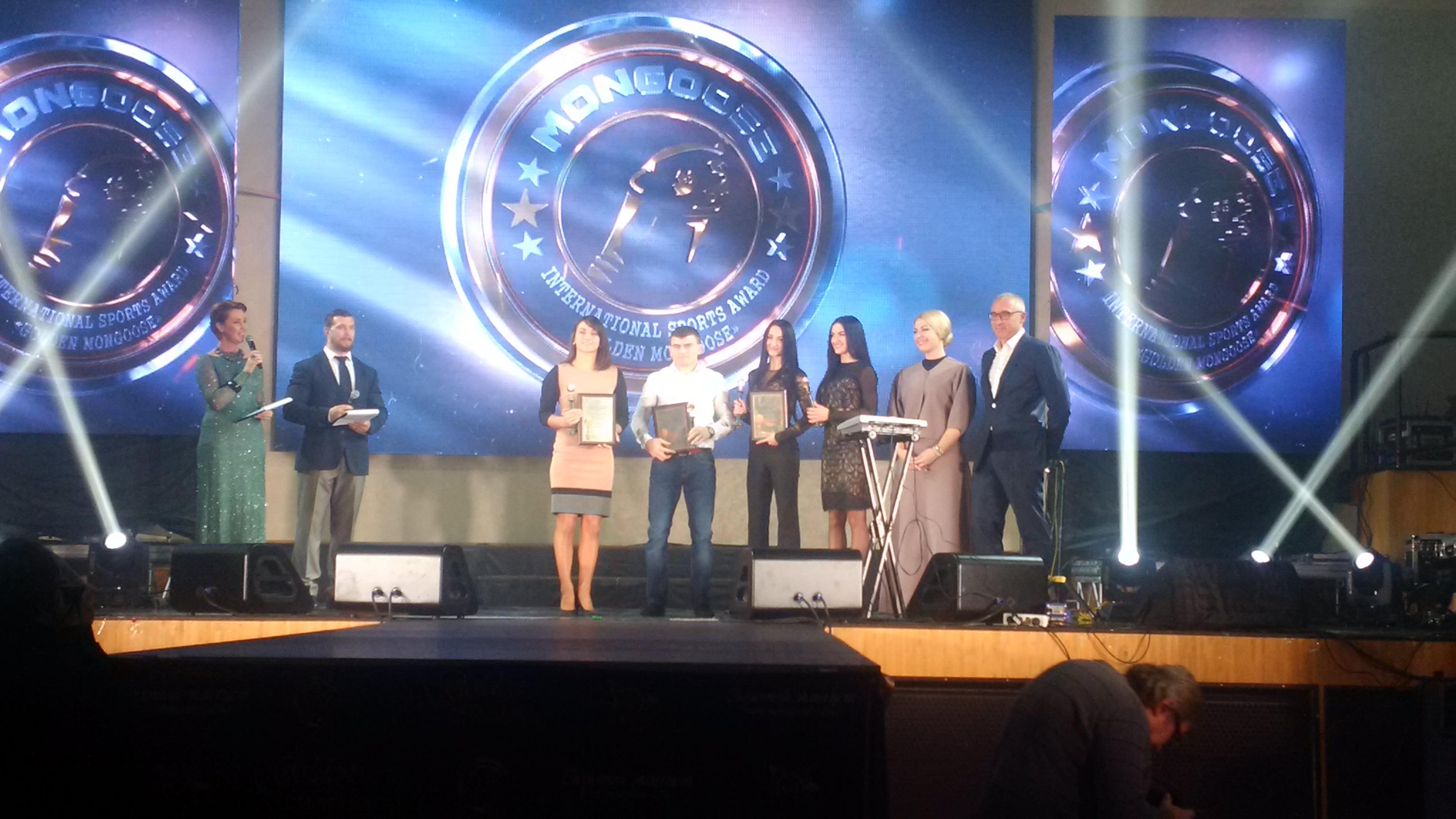 Спортивная Международная Премия «Золотой Мангуст» нашла своих героев