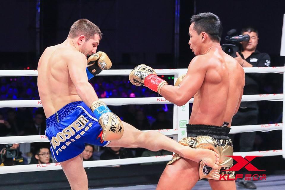 Одессит Сергей Куляба провел профессиональный бой