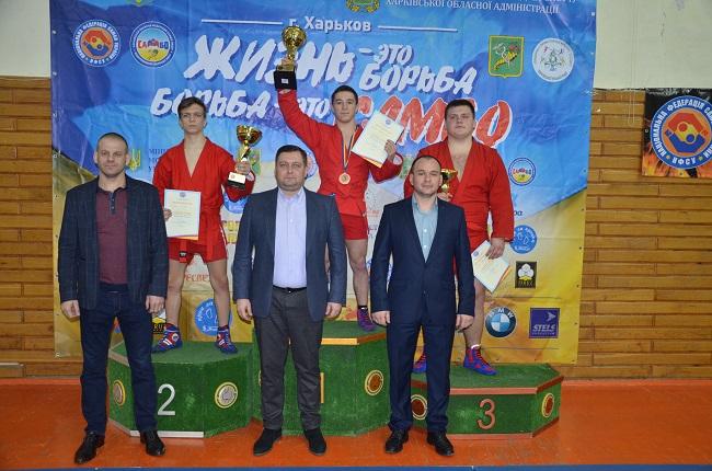Чемпионат Украины по самбо: одесская молодежь завоевала юниорский кубок