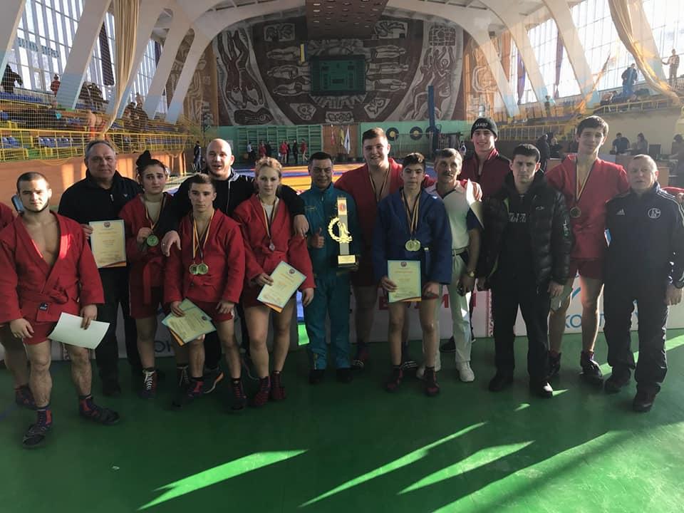Кубок Украины среди мужчин и женщин по спортивному и боевому самбо: Одесская область завоевала первое общекомандное место