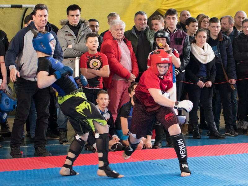 Отборочные соревнования по ММА и Козацкому двобою прошли в Одессе