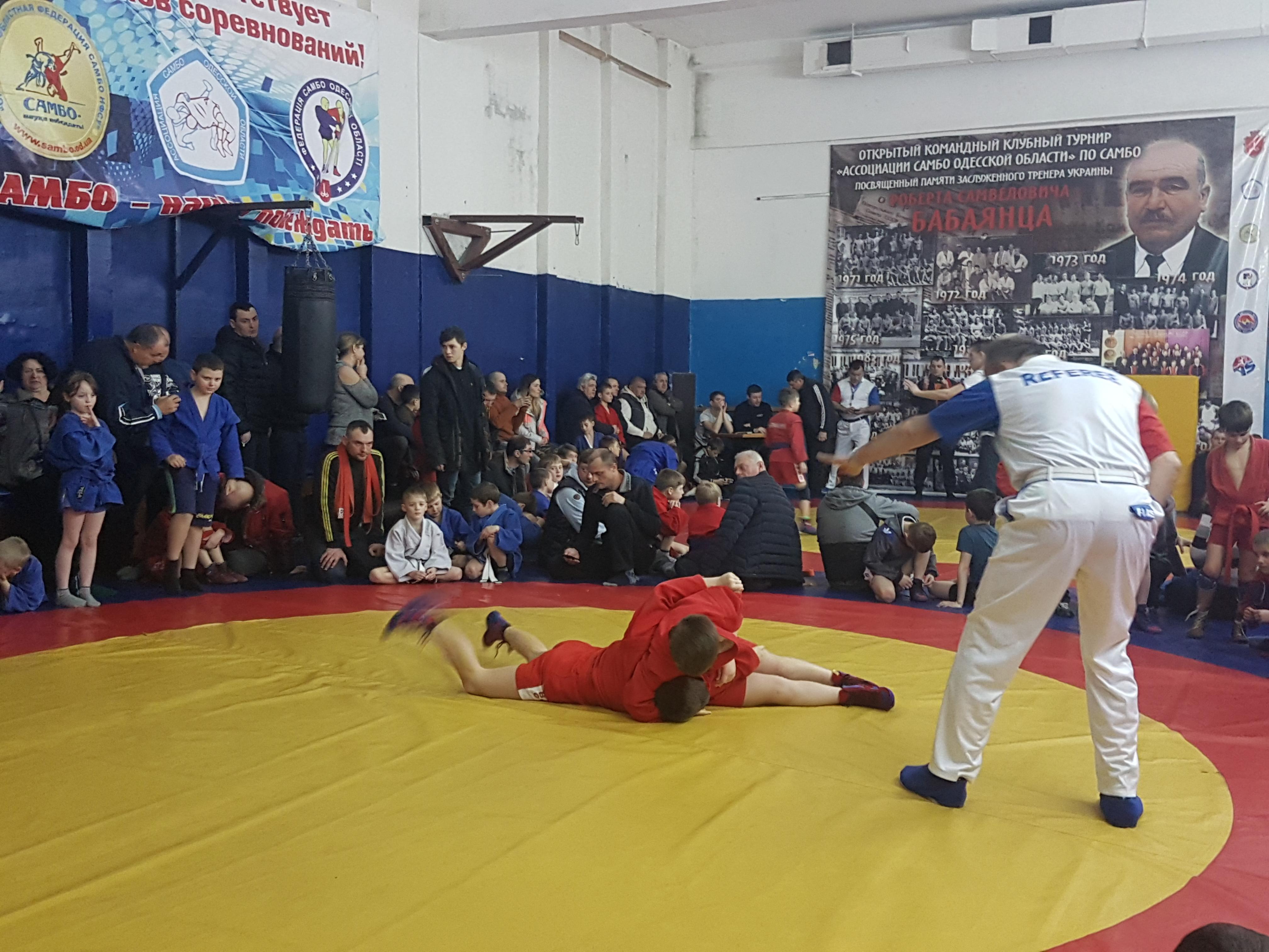 Открытый турнир по самбо, посвященный 5-летию основания секции самбо при АСОО