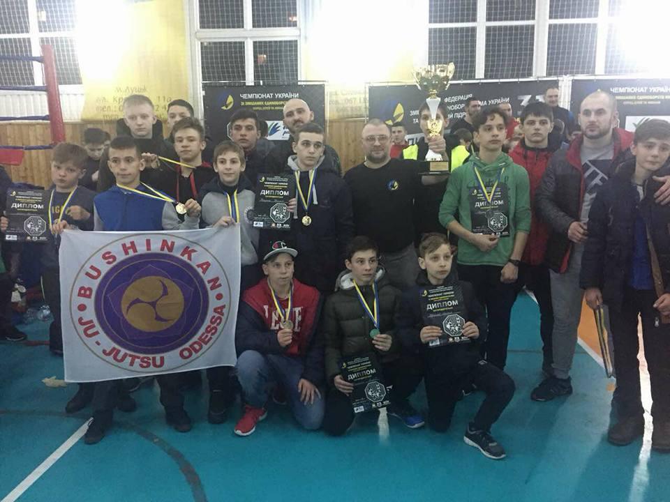 Чемпионат Украины по ММА: Одесская область заняла 1 общекомандное место 3 год подряд