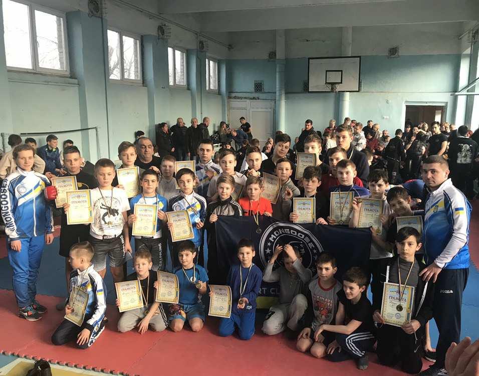 Чемпионат Николаевской области по панкратиону: спортсмены клуба «Мангуст» завоевали 39 медалей