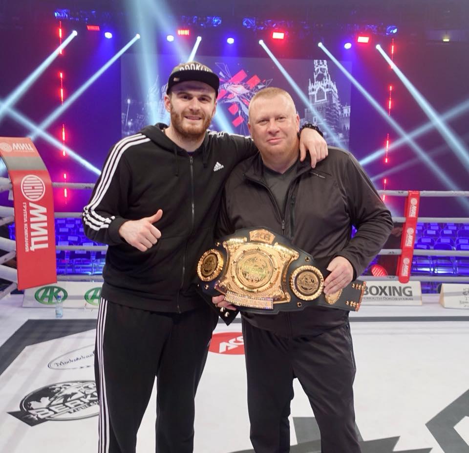Одессит Цотне Рогава стал обладателем чемпионского пояса по версии ACB KB