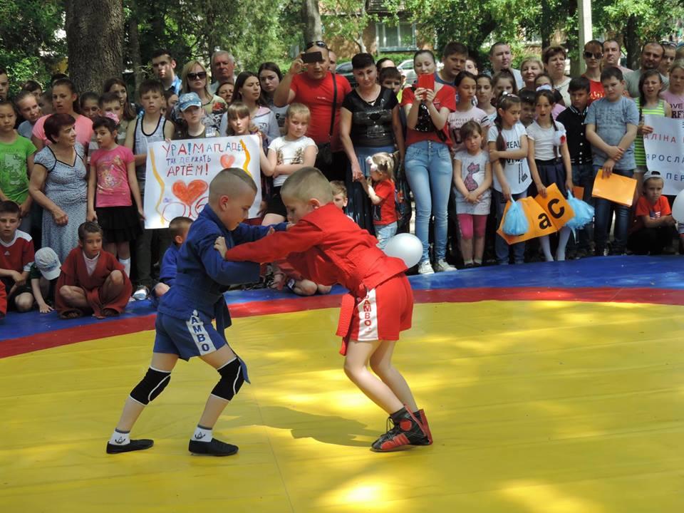 Чемпионат города по самбо среди общеобразовательных школ