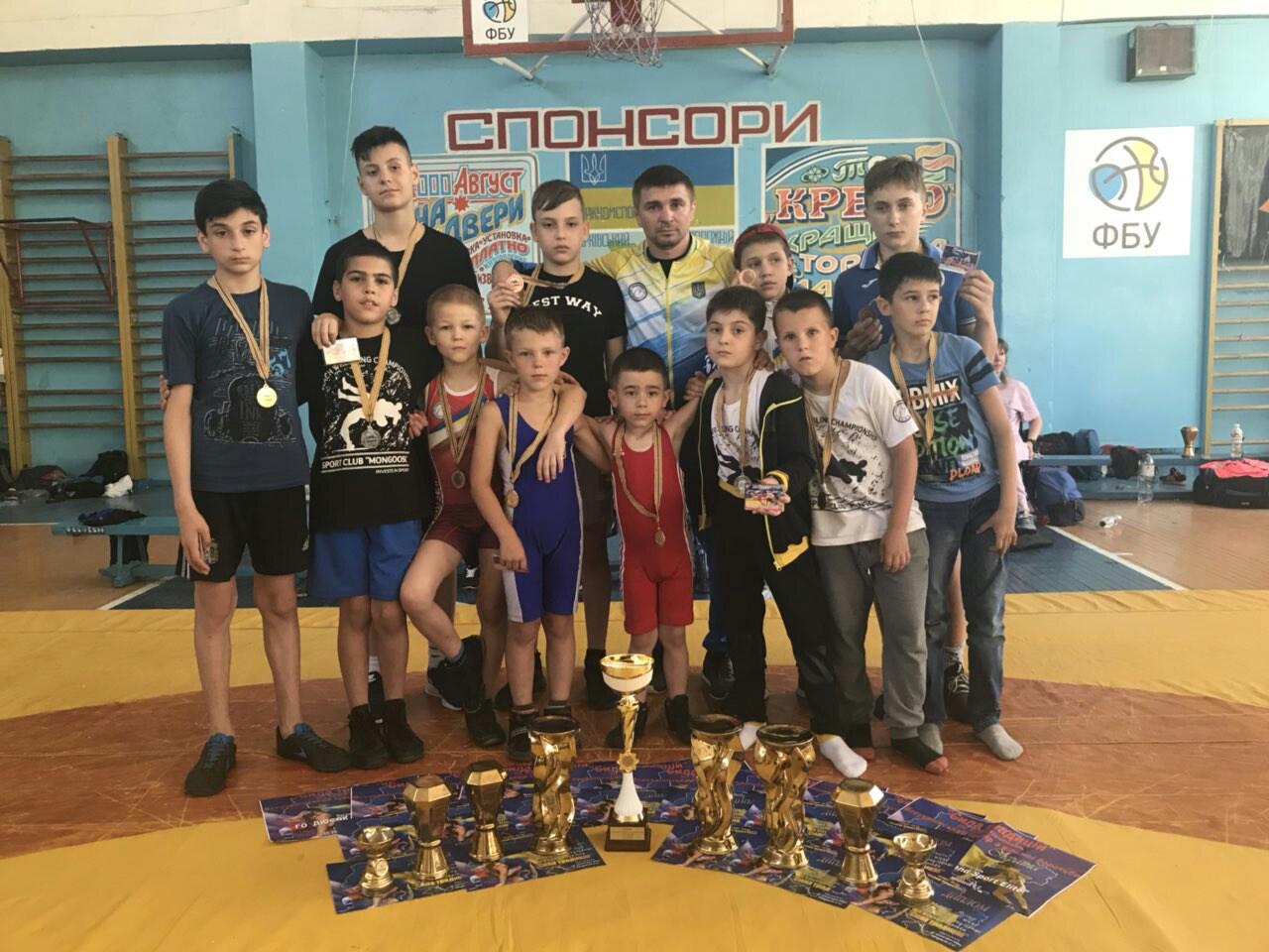 Турнир «Сила традиций» по вольной борьбе: одесситы завоевали 3 золота, 3 серебра и 2 бронзы
