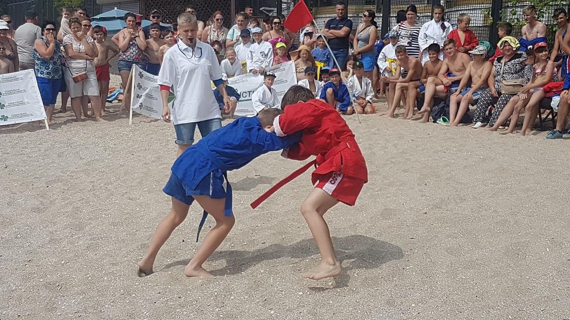 Кубок «Черного моря» по пляжному самбо. ВИДЕО!