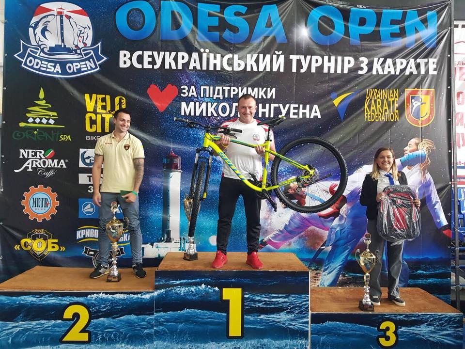 Всеукраинский турнир по каратэ «Odessa Open» состоялся