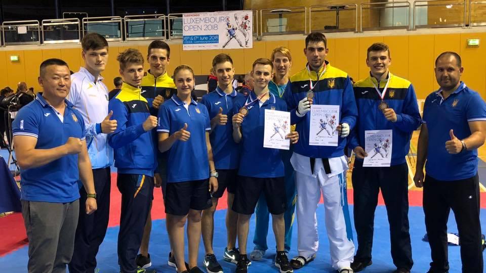 Международный турнир по тхэквондо «Luxembourg Open 2018»: одесситы в составе сборной