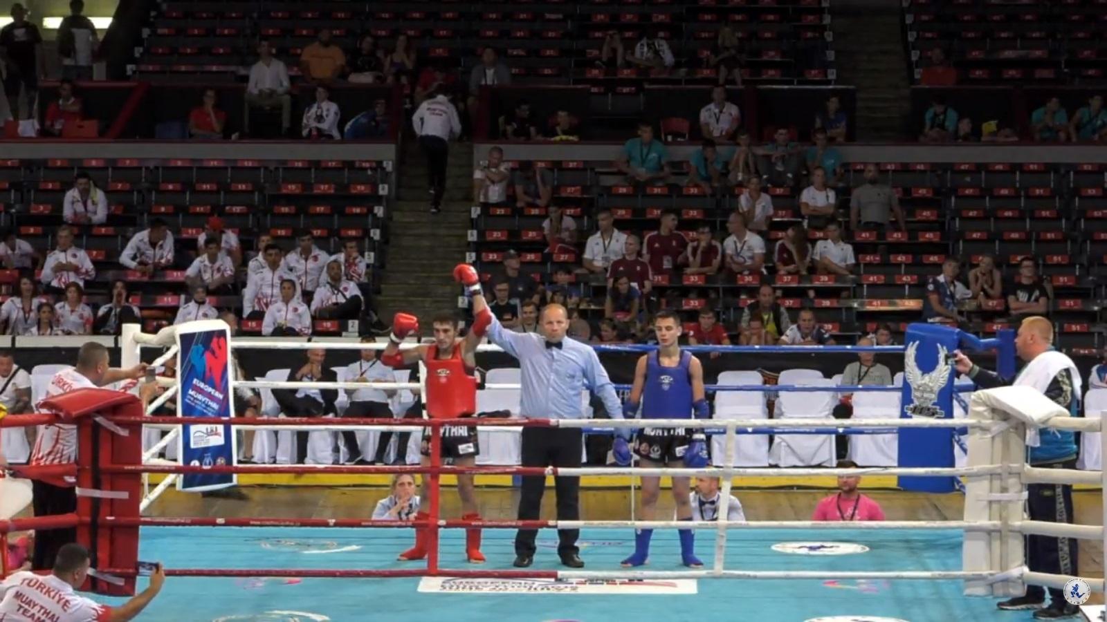 Чемпионат Европы по тайскому боксу: 3 день соревнований и 1 бронзовая медаль. ВИДЕО БОЕВ!