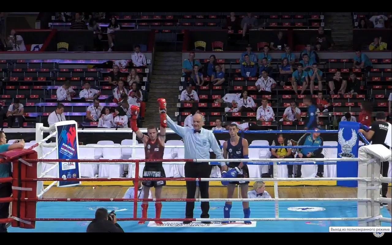 Чемпионат Европы по тайскому боксу: 1 день соревнований. ВИДЕО БОЕВ!