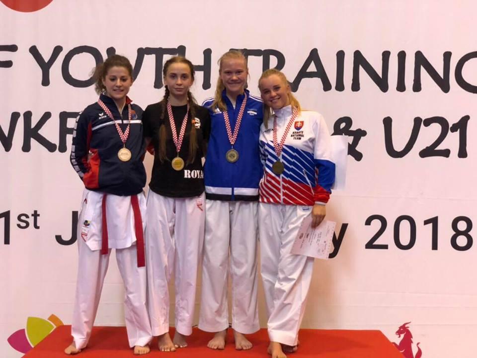 Кубок мира по каратэ Юношеской премьер Лиги: одесситы привезли золото и 2 бронзы