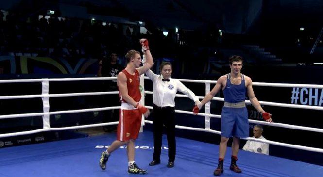 Чемпионат мира по боксу среди молодежи: одессит Максим Молодан в полуфинале