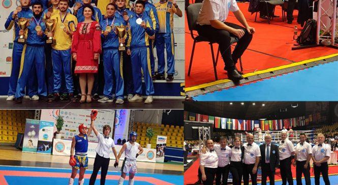 Чемпионат Европы по кикбоксингу WAKO: достижения одесских спортсменов и судей