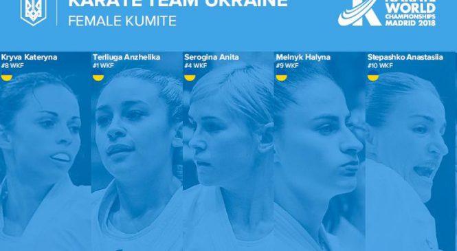 5-ка одесских каратистов будет представлять Украину на чемпионате мира в составе сборной команды