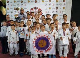 Международный турнир по джиу-джитсу: одесский клуб «Бушинкан» занял I общекомандное место