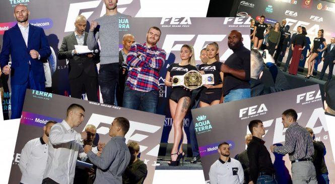 Турнир FEA WORLD GP 2018: взвешивание прошло успешно!