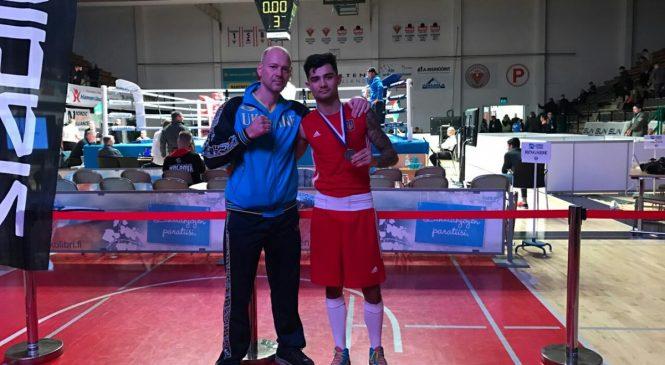 Международный турнир по боксу: одессит Майк Стиценко стал вице-чемпионом