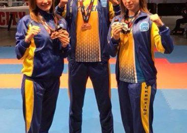 Спортсменка Одесской области Екатерина Гладкая стала дважды бронзовым призером чемпионата Европы по кикбоксингу WAKO