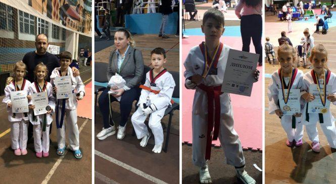Чемпионат Украины по тхэквондо среди спортивных школ и клубов: спортсмены Одесской КДЮСШ №17 завоевали 11 медалей