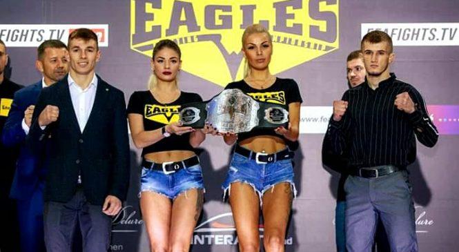 Одессит Дмитрий Придыбайло выиграл профтурнир по ММА «Eagles fighting championship X», завоевав пояс чемпиона