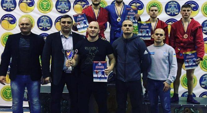 Кубок Украины по боевому самбо: одесситы завоевали 3 золота, 1 бронзу и 3 общекомандное место среди мужчин