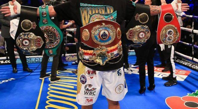 Александр Усик подтвердил звание «абсолютный чемпион» в бое с Тони Беллью