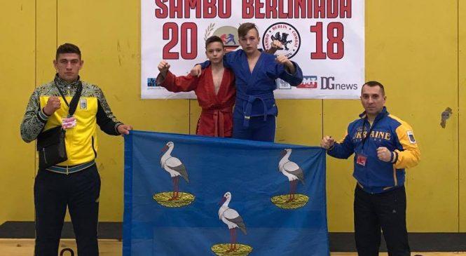 Международный турнир «SAMBO BERLINIADA 2018»: спортсмены Одесской области привезли 2 золота и 1 серебро