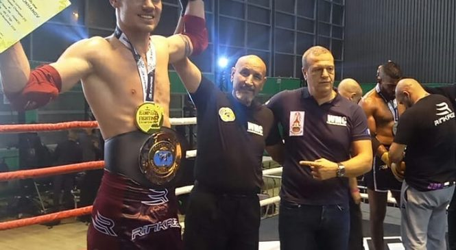 Одессит Анатолий Суханов стал чемпионом Европы по версии WMC и обладателем чемпионского пояса
