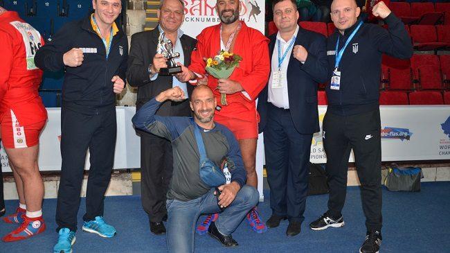 Чемпионат мира по самбо: одессит «взорвал» Бухарест