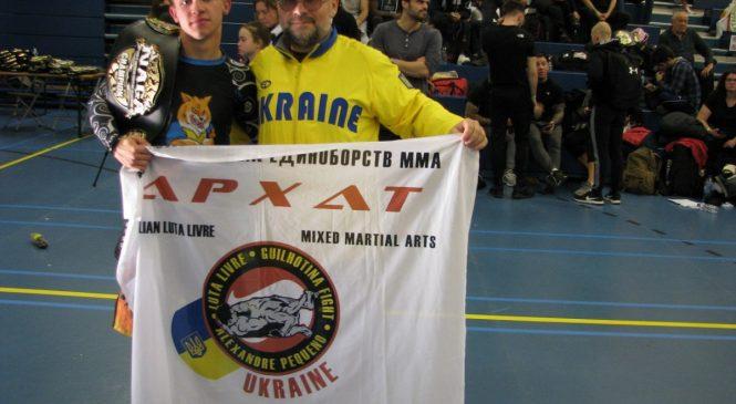 14-летний одессит Игорь Макогон стал чемпионом Европы по грепплингу NAGA и обладателем пояса