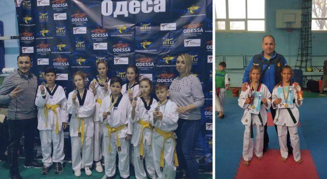 Кубок Деда Мороза 2018 по тхэквондо состоялся в Одессе
