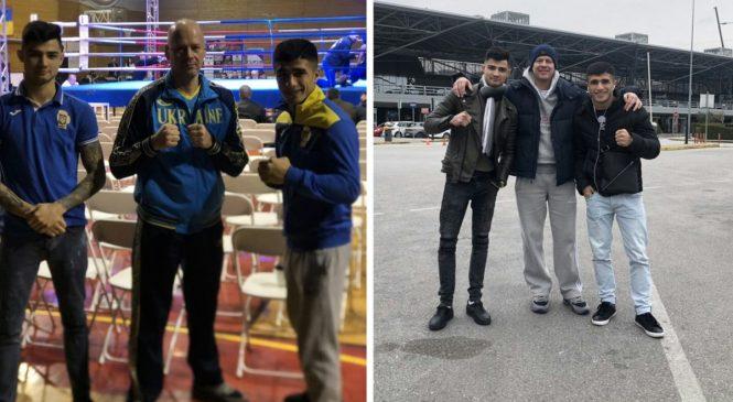 Одесские боксеры Майк Стиценко и Артур Бадалян на международном турнире, памяти Христофоридиса