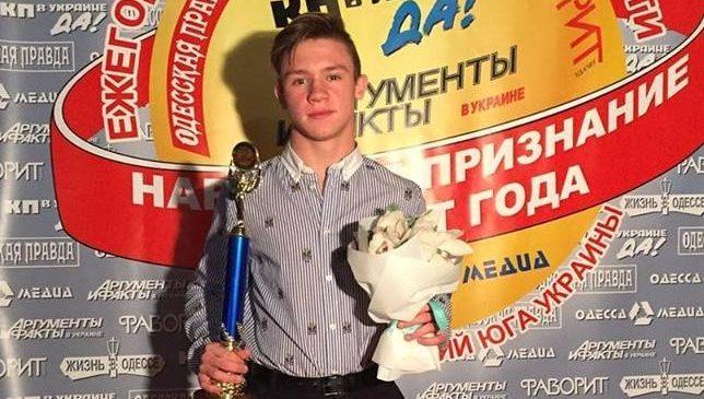 «Одесситом года» признан спортсмен клуба смешанных единоборств ММА «Архат» Игорь Макогон