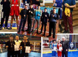 12 наград привезли с соревнований одесские боксеры в первой декаде декабря