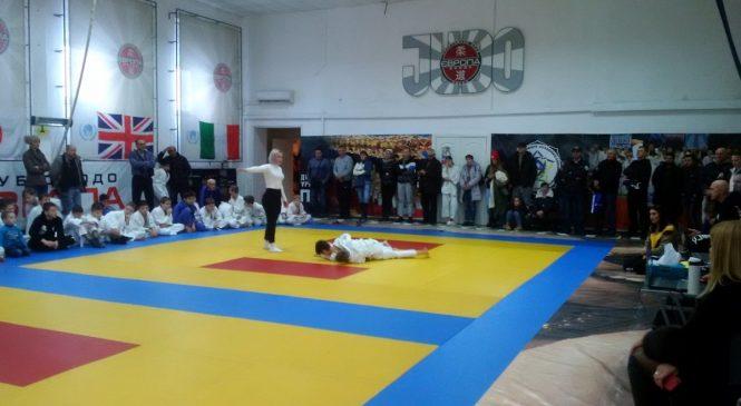 Соревнования по дзюдо «Нова Хвиля 2018» Judoka прошли в Одессе