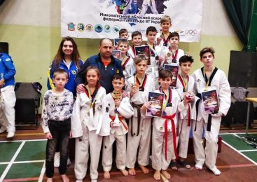 Одесситы заняли 2 общекомандное место в турнире по тхэквондо «Кубок Причерноморья»