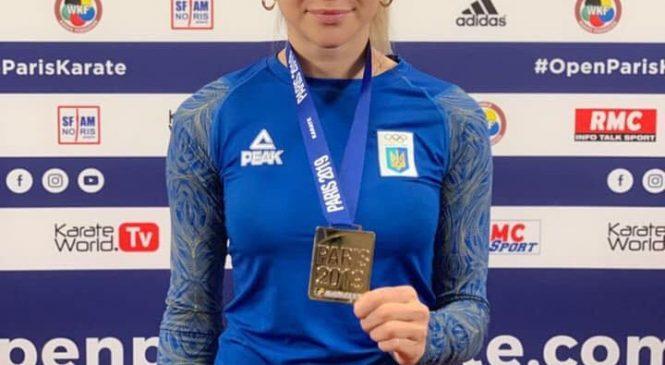 Одесситка Анжелика Терлюга стала чемпионкой Karate1 Premier League – Paris Open 2019