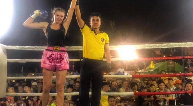 Одесситка Виктория Иванец: «ПЕРВЫЙ профессиональный бой и ПОБЕДА в нем НОКАУТОМ в первом же раунде»