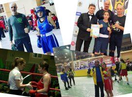 Одесситки привезли 5 медалей с чемпионата Украины по боксу среди женщин