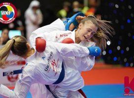 Одесская каратистка Анжелика Терлюга стала вице-чемпионкой турнира Премьер-Лиги Karate1 2019 в Дубае