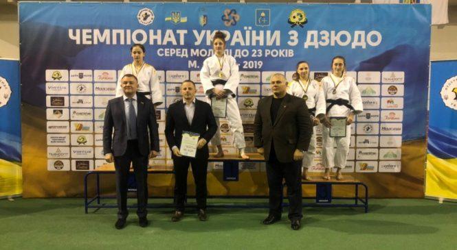 Бронзовые медали завоевали одесские дзюдоистки на чемпионате Украины среди молодежи