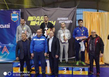 3 медали завоевали одесситы в чемпионате Украины по греко-римской борьбе
