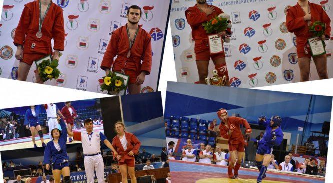 Одесские самбисты привезли с международного турнира золото, серебро и 2 бронзы